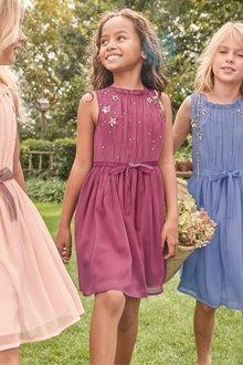 Next Sequin Star Dress (3-16yrs)