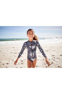 Next Long Sleeve Sunsafe Swimsuit (3-16yrs)