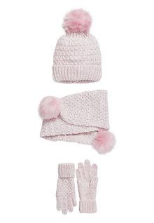 Next 3 Pack Hat, Scarf & Gloves (Older)