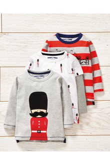 Next 3 Pack T-Shirts (3mths-7yrs)