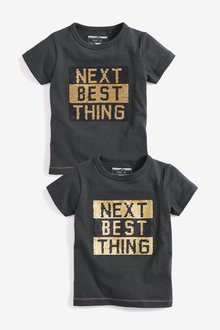 Next Flippy Sequin T-Shirt (9mths-7yrs)