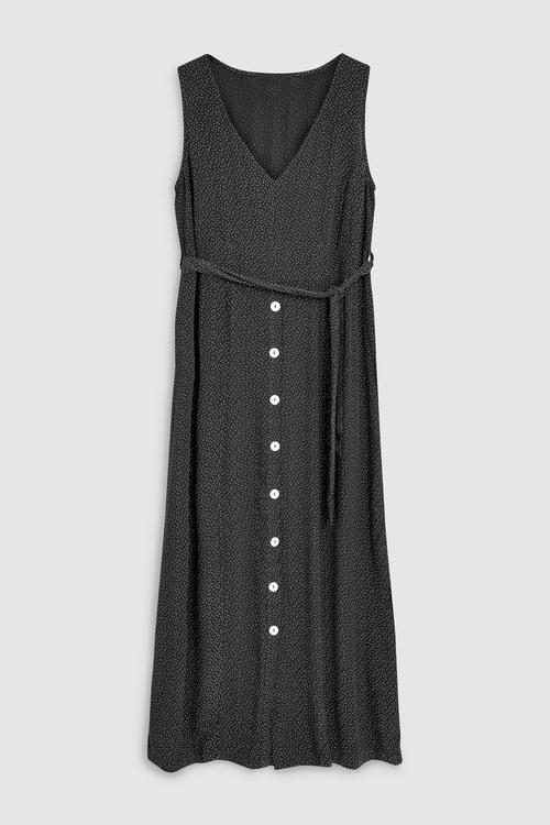 Next Button Through Dress