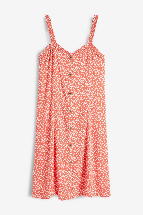 Next Button Through Dress- Tall
