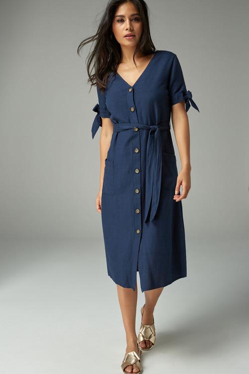 Next Tie Arm Dress-Tall