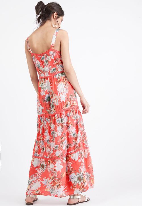 Next Printed Maxi Dress- Tall