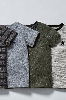 Next Textured T-Shirt (3mths-7yrs)
