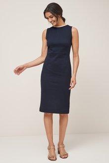 Next Textured Jersey Jacquard Dress