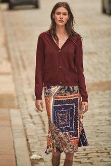 Next Midi Skirt- Tall