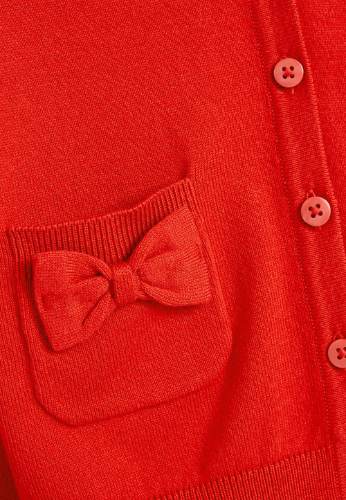 Next Bow Pocket Cardigan (3-16yrs)