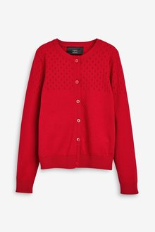 Next Pointelle Detail Cardigan (3-16yrs)