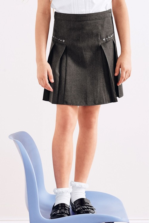 Next Embroidered Pleat Skirt (3-16yrs)