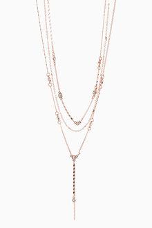 Next Multi Tassel Necklace