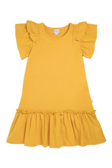 Pumpkin Patch Dress with Frill Hem