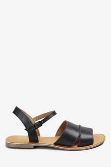 Next Forever Comfort Leather Two Part Sandals