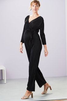 Next Maternity Plisse Jumpsuit - 237927