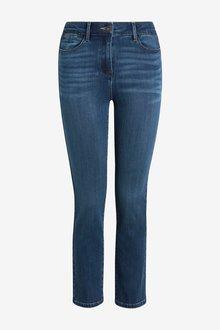 Next Slim Leg Cropped Jeans- Petite