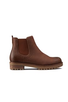 Next Forever Comfort Casual Chunky Chelsea Boots- Regular