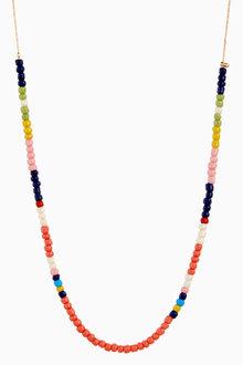 Next Multi Coloured Fine Beaded Necklace