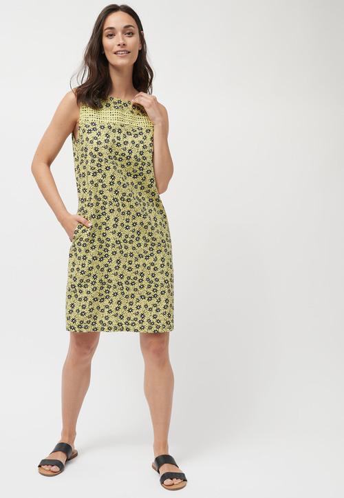 Next Linen Blend Shift Dress