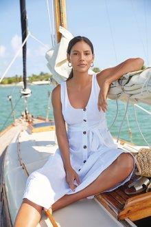 Next Linen Dress-Petite