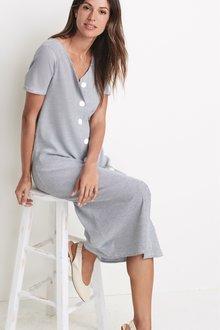 Next Nursing Button Through Dress