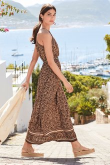 Next Tiered Maxi Dress- Tall