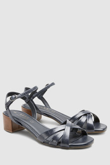 Next Leather Forever Comfort City Sandals