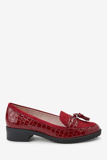 Next Cleated Tassel Loafers- Regular