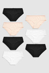 Next Cotton Knickers Seven Pack-Short
