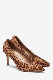 Next V-Cut Court Shoes