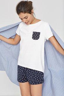 Next Cotton Pyjama Short Set
