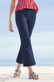 Next Kick Flare Pocket Cropped Jeans