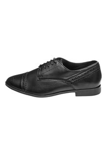 Next Leather Brogues- Wide