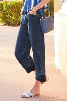 Next Wide Leg Ankle Jeans