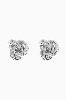 Next Knot Detail Stud Earrings