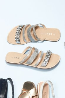 Next Multi Strap Mules