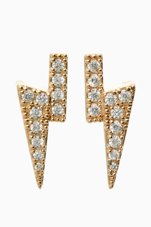 Next DiamantA Bolt Stud Earrings