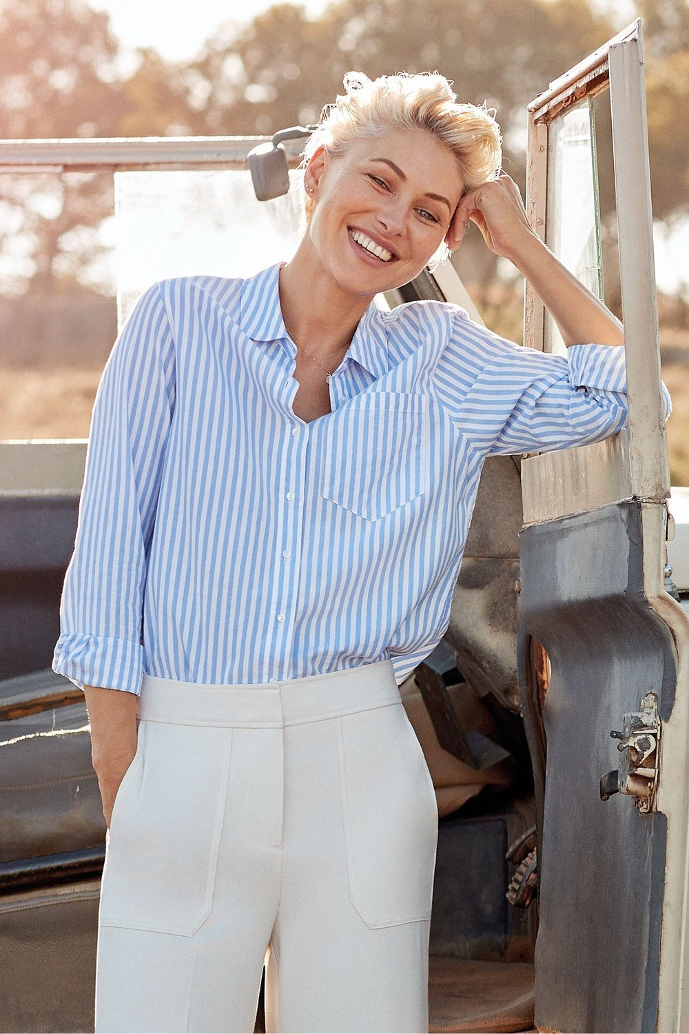 for whole family select for clearance closer at Next Emma Willis Stripe Shirt