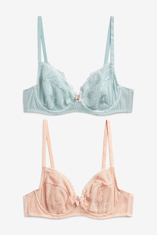 Next Lizzie Non Pad Balcony Bras Two Pack