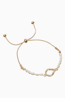 Next Pearl Effect Pully Bracelet