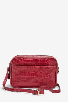 Next Leather Camera Bag