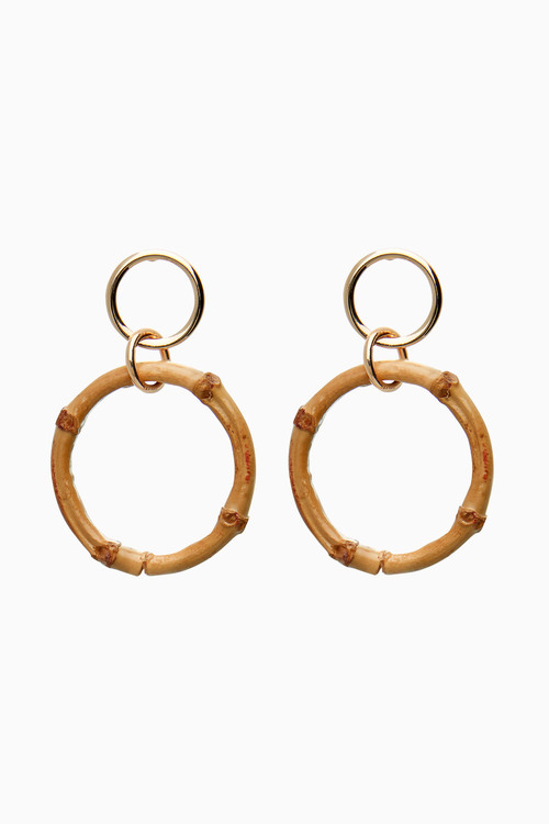 Next Statement Bamboo Effect Earrings