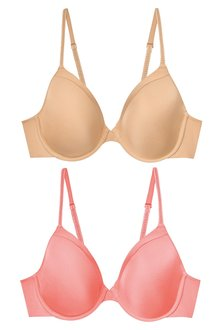 Next Holly Light Pad Full Cup Bras Two Pack