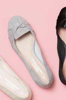 Next Forever Comfort Twist Ballerinas- Regular