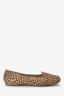 Next Square Toe Slippers- Regular
