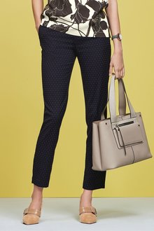 Next Pin Dot Slim Trousers - 238555