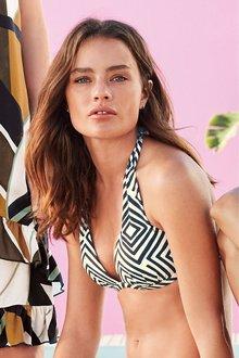 Next Moulded Triangle Bikini Top