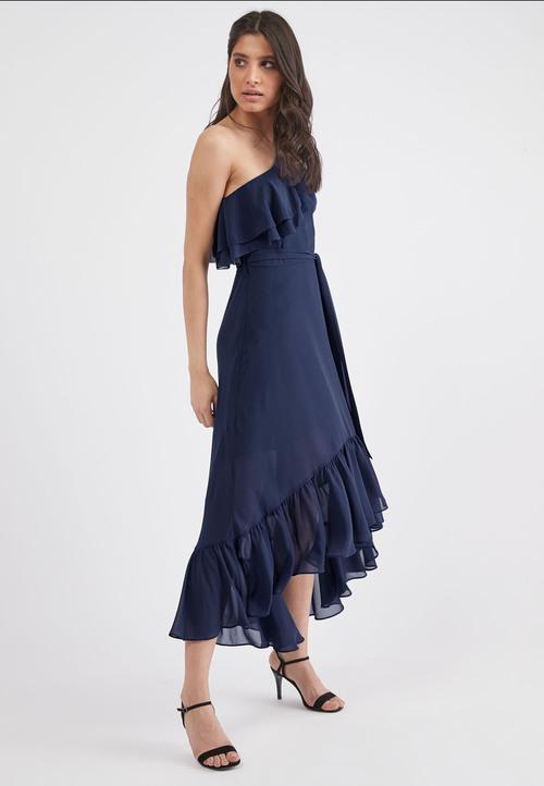 Next Ruffle One Shoulder Dress