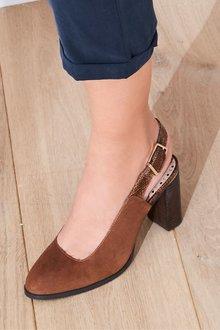 Next Forever Comfort Block Heel Slingbacks
