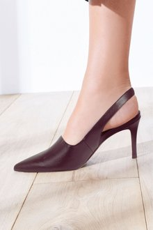 Next High Cut Slingbacks- Wide